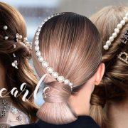 Τάση αξεσουάρ μαλλιών: Πέρλες, πέρλες κι άλλες πέρλες!