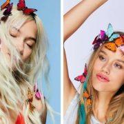 Πεταλούδες στα μαλλιά μας!