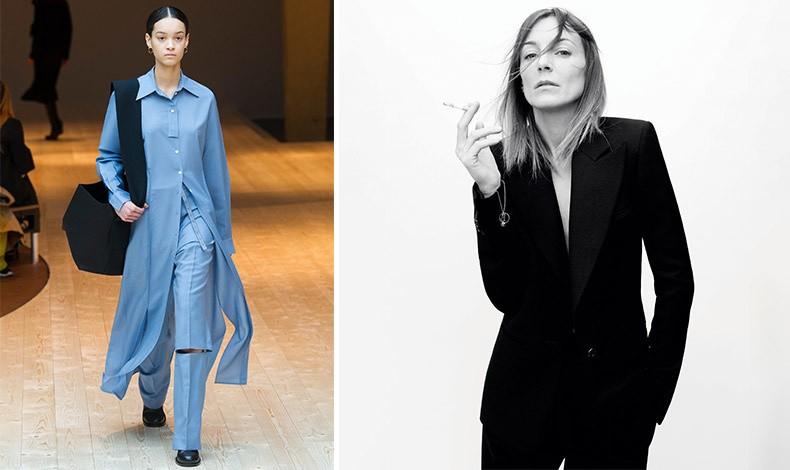 Λιτές γραμμές και μία αίσθηση κομψότητας τόσο στα ρούχα της όσο και στο προσωπικό της στιλ