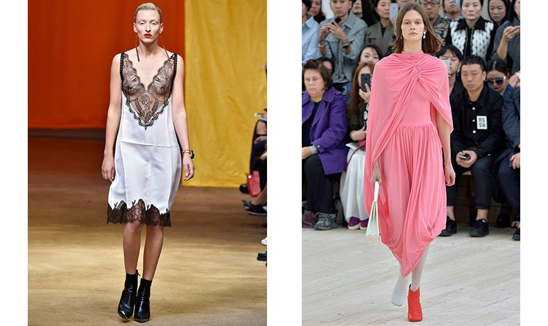 Ήταν η πρώτη που συνδύασε τα ριχτά φορέματα με μποτίνια