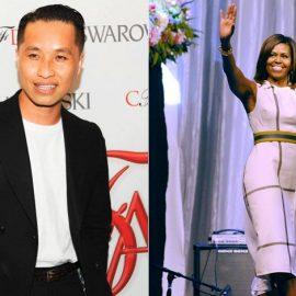 Ο Phillip Lim // Η Michelle Obama λατρεύει τις δημιουργίες του Phillip Lim. Εδώ με φόρεμά του