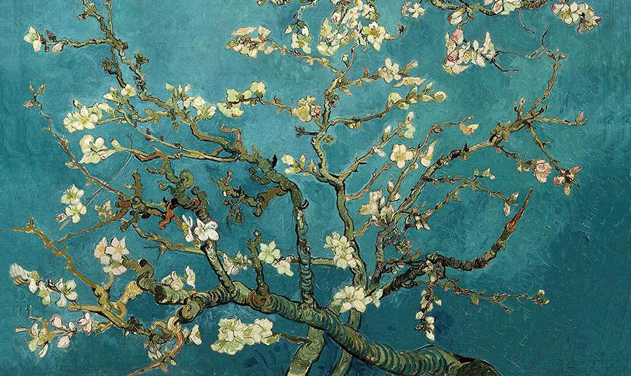 Ένα από τα πιο διάσημα έργα του Vincent Van Gogh, Almond Blossom, 1890. Ο πίνακας βρίσκεται στο Μουσείο Βαν Γκογκ στο Άμστερνταμ