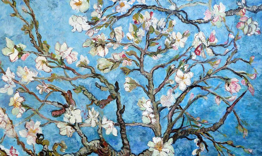 Almond Blossoms, του σύγχρονου Αμερικανού ζωγράφου Tom Roderick