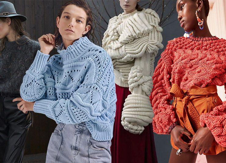 Τα πλεκτά πουλόβερ του φετινού χειμώνα