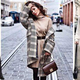 Τα πλεκτά φορέματα ταιριάζουν εξαιρετικά με δερμάτινες μπότες ή με οπάκ καλσόν, ενώ με μία ζώνη τονίζεται η μέση σας