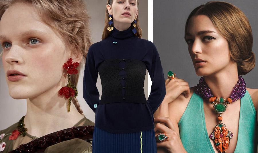 Τάση: Πολύχρωμα κοσμήματα και πώς να τα φορέσετε