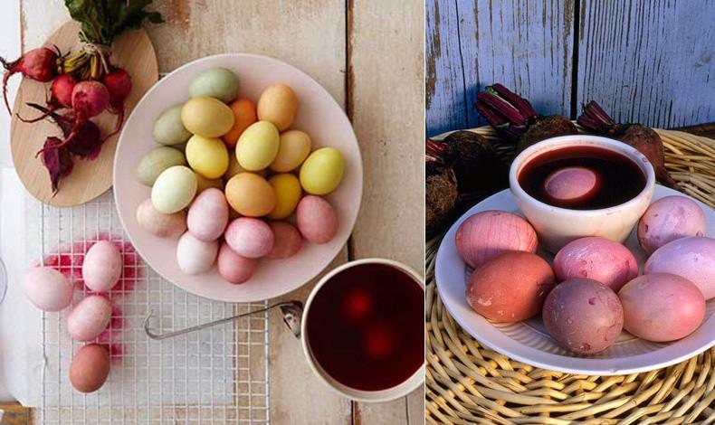 Παλ αποχρώσεις σε χαρούμενα χρώματα // Τα παντζάρια προσφέρουν χρωματικές διακυμάνσεις, σύμφωνα με τις προτιμήσεις σας