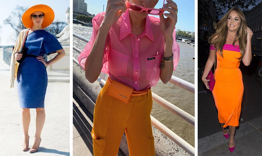 Το πορτοκαλί ταιριάζει με μπλε αλλά και με ροζ ή φούξια