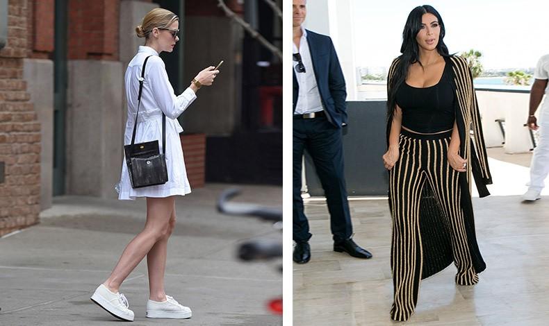 Όσες γυναίκες κρατούν την τσάντα τους από τον έναν ώμο και την αφήνουν ελεύθερη είναι ανήσυχα πνεύματα // Η Kim Kardashian κυκλοφορεί χωρίς τσάντα, θέλοντας να δείξει ότι δεν τη χρειάζεται… έχει άλλους να ασχολούνται με τα «τετριμμένα»
