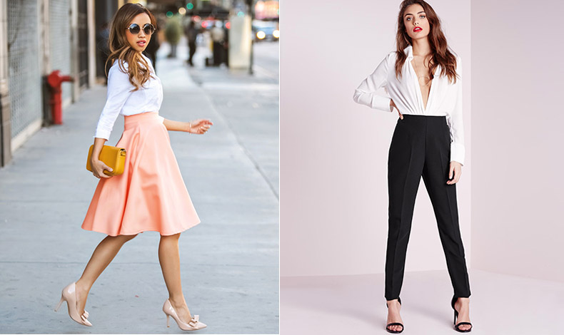 Τα ψηλόμεσα ρούχα μπορεί να θεωρούνται δύσκολα, αλλά η πραγματικότητα είναι ότι μπορούν να κάνουν τη σιλουέτα να φαίνεται πιο ψηλόλιγνη