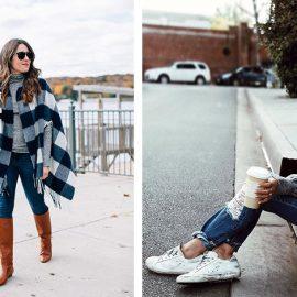 Για μία χαλαρή βόλτα υπάρχει πιο απλός τρόπος από το τζιν σας με ένα ζιβάγκο πουλόβερ; Με μπότες ή τα αθλητικά σας και πάρτε… τους δρόμους!