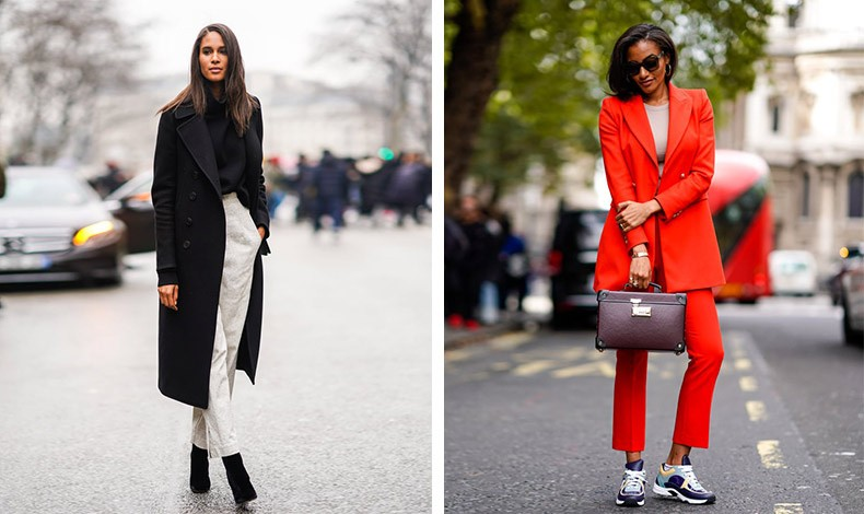 Φορέστε ένα πιο λεπτό πουλόβερ με ένα λευκό παντελόνι και μακρύ παλτό ή κάτω από το αυστηρό σας κοστούμι