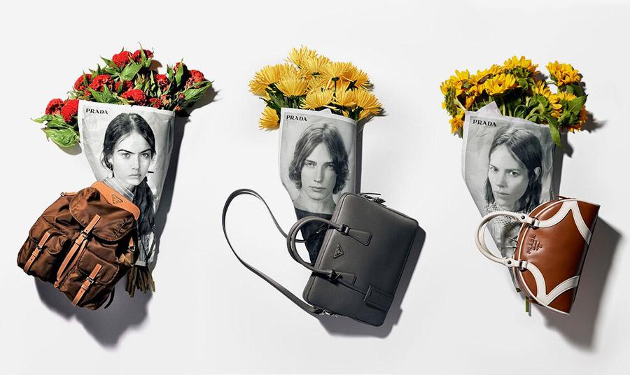 Η Resort συλλογή με τίτλο Seditious Simplicity, παρουσιάστηκε πριν 6 μήνες, δίνοντας έμφαση στις απλές (αλλά όχι μίνιμαλ) γραμμές, τα prints, τις ποιοτικές υφές και το χαρακτηριστικό chic χαρακτήρα της Prada.