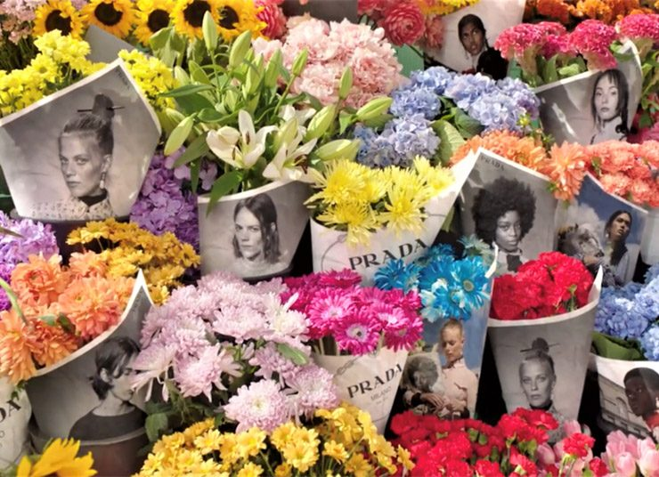 Πες το με λουλούδια! Η εκπληκτική καμπάνια της Prada!