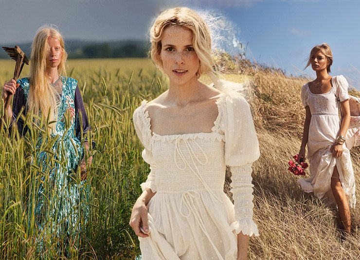 Prairie dress: Τα φορέματα της γαλλικής εξοχής είναι πάλι στη μόδα!