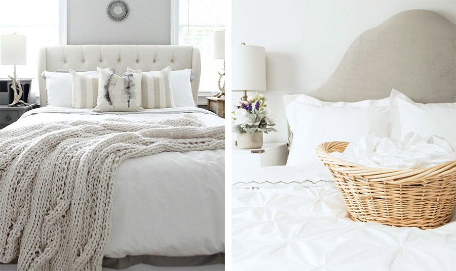 Αποφύγετε τη χλωρίνη και πλένετε στη σωστή θερμοκρασία για τέλεια φροντίδα των λευκών σας κλινοσκεπασμάτων