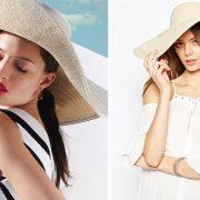 Φορέστε το με ένα ασπρόμαυρο φόρεμα και εντυπωσιάστε στις διακοπές // Μαλακό ψάθινο μεγάλο καπέλο, Asos