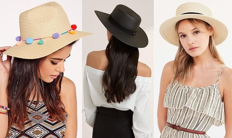 Διαλέξτε ένα απλό ψάθινο καπέλο και στολίστε το με πομ πον // Μαύρο συνδυασμένο με ασπρόμαυρη εμφάνιση κάνει τη διαφορά // Το κλασικό καπέλο Panama έχει τη χαρακτηριστική μαύρη κορδέλα, περασμένη γύρω από τη βάση του