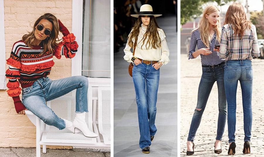 Για ένα πιο «ανδρικό» λουκ φορέστε το ψηλόμεσο τζιν με μποτίνια και ένα εντυπωσιακό πουλόβερ, σε στιλ wild west (από τον οίκο Celine) ή με καρό πουκάμισο