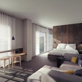 Κομψή και λιτή διακόσμηση στα δωμάτια