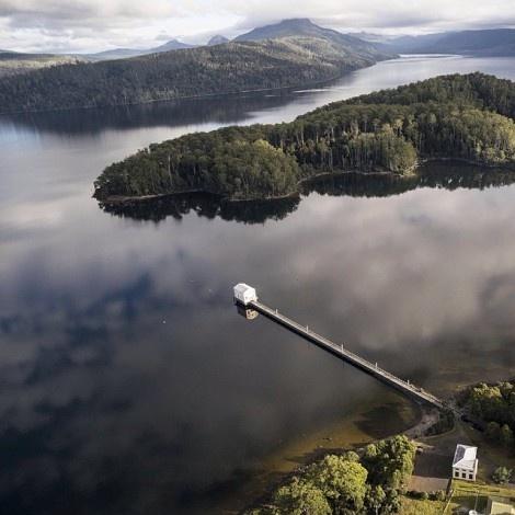 Πανοραμική άποψη της λίμνης St Clair