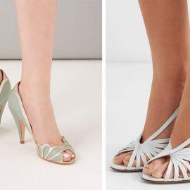 Τα peep toes, δηλαδή τα παπούτσια με ανοιχτή μύτη που αποκαλύπτει τα δάκτυλα των ποδιών, δείχνουν αυτόματα τα πόδια μακρύτερα, ενώ είναι και απίστευτα κομψά