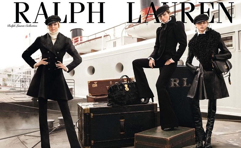 Μία από τις εντυπωσιακές διαφημίσεις για τη γυναικεία συλλογή Ralph Lauren