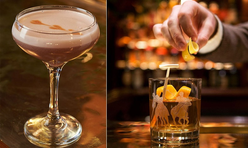 Ετοιμάστε κι εσείς τη συνταγή του εμβληματικού κοκτέιλ Ralph Lauren Regent Street Sour // Κλασικά κοκτέιλ και εξαιρετικής ποιότητας ποτά σερβίρονται στο μπαρ