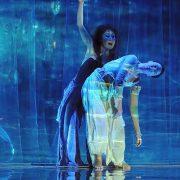 ΤΟ ΤΡΑΓΟΥΔΙ ΤΗΣ ΙΡΙΔΑΣ, 2008, χορός Yumiko Yoshioka/Εύη Τζώρτζη (Φωτογραφία: Χρόνης Γιαννόπουλος)
