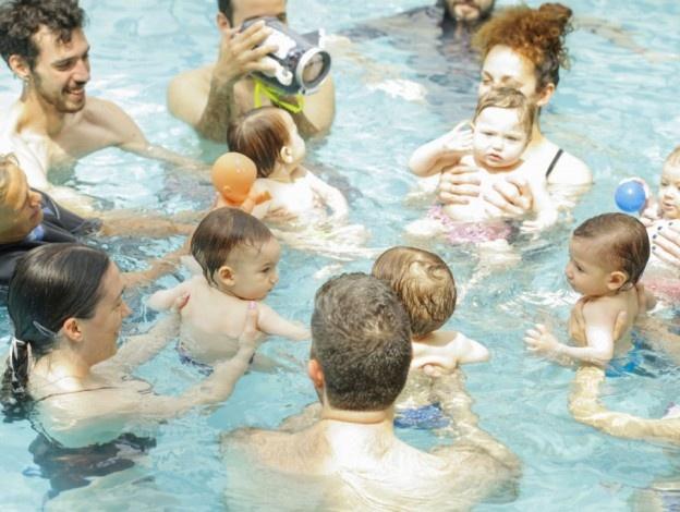 Koλύμβηση για γονείς και παιδιά!