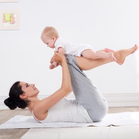 Baby yoga, για παιδιά από 3 μηνών έως 3 ετών