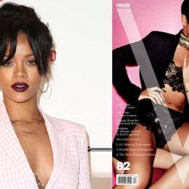 Με ροζ ταγιέρ ή με μαύρη δαντέλα και προκλητική πόζα για το περιοδικό V;