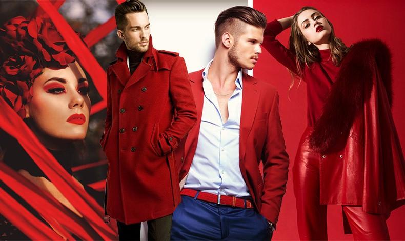 Το κόκκινο θεωρείται σέξι χρώμα που αποπνέει αυτοπεποίθηση αλλά και διχάζει! Το 54% των γυναικών είπε πως θα επέλεγε ένα κόκκινο σύνολο, ενώ μόνο το 28% των αντρών θα έκανε το αντίστοιχο