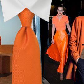 Σύμφωνα με την έρευνα το πορτοκαλί επιλέγεται από έναν ελάχιστο αριθμό ανδρών και γυναικών για τις εμφανίσεις του σε κρίσιμα ραντεβού