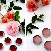 Φτιάξτε το δικό σας τριανταφυλλένιο balm για τα χείλη!