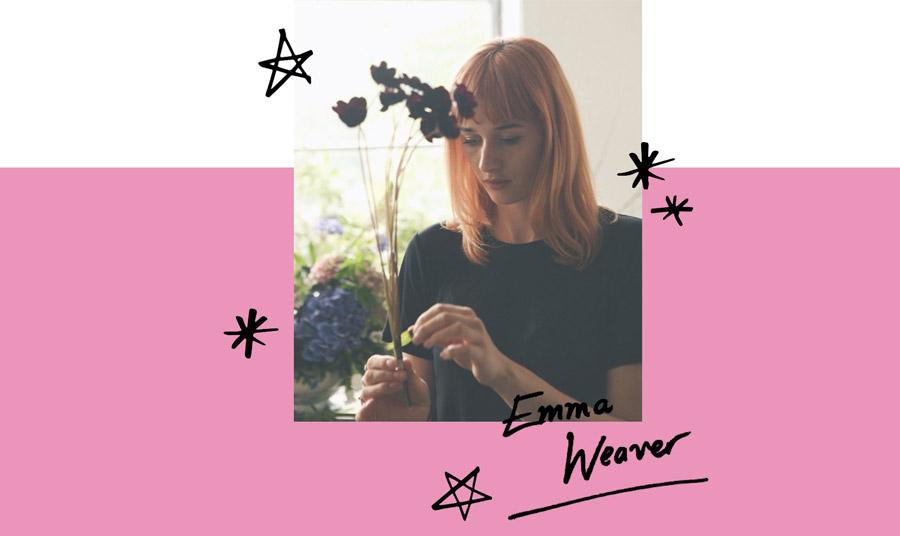 Η Emma Weaver ακολούθησε το πάθος της για τα λουλούδια