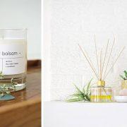 Τα φυσικά αρωματικά κεριά, τα αρωματικά έλαια και στικς προσφέρουν ωραία, αρωματισμένη ατμόσφαιρα στους χώρους του σπιτιού μας