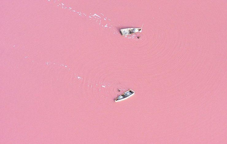 Σαν κρέμα γάλακτος με φράουλα? Μία απόχρωση του ροζ απλά μαγευτική, έχω δίκιο; Θα έχετε την ευκαιρία να την αντικρίσετε στη Σενεγάλη!