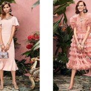 Ρομαντισμός, θηλυκότητα, με λίγα λόγια τα «συστατικά» του στιλ για τους Dolce&Gabbana που δεν λείπουν και από τις ροζ δημιουργίες τους για το φετινό φθινόπωρο