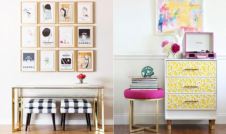 Προσθέστε φούξια ή άλλη έντονη απόχρωση του ροζ, σε διάφορες γωνιές του σπιτιού