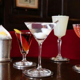 Μία γεύση από τα κοκτέιλ που σερβίρονται στο μπαρ του Rules