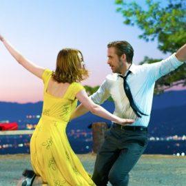 Χορευτική σκηνή από το μιούζικαλ La La Land με τον Ράιαν Γκόσλινγκ και την Έμμα Στόουν στους πρωταγωνιστικούς ρόλους