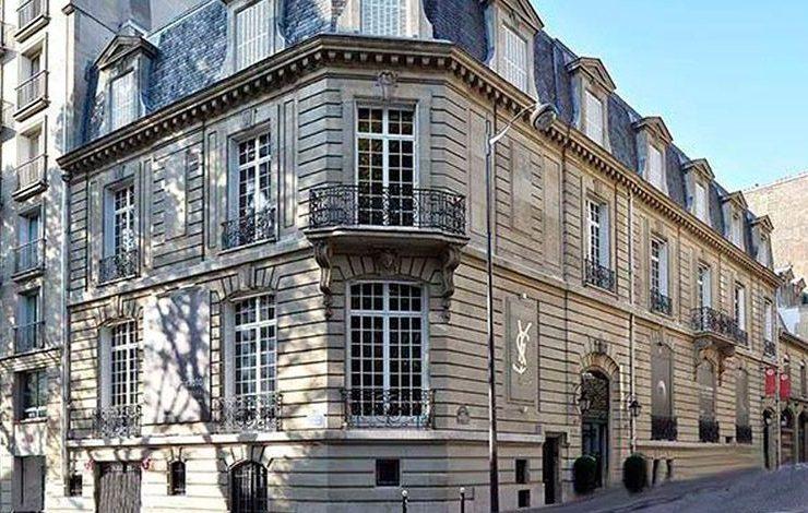 Το κτίριο όπου στεγάζεται το νέο μουσείο της γαλλικής πρωτεύουσας, αφιερωμένο στον μεγάλο δημιουργό Yves Saint Laurent