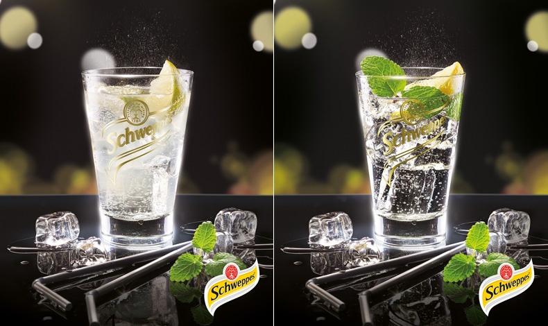 Βitter Lemon και Ιndian Tonic Water κλασικές Schweppes που αναζωογονούν το στόμα και τις αισθήσεις