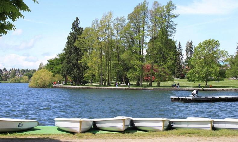 Το Green Lane Park, ένα από τα αναρίθμητα πάρκα του Σιάτλ