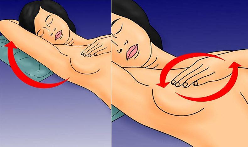 Κάντε αυτοξέταση και ξαπλωμένες, για οποιαδήποτε μεταβολή ενημερώνετε τον γιατρό σας!