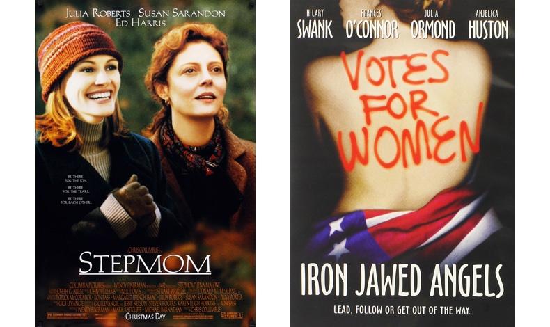 Η ζωή σε δύο πράξεις με την Τζούλια Ρόμπερτς και τη Σούζαν Σαράντον // Με τις σουφραζέτες: Η ταινία παρουσιάζει τον αγώνα των γυναικών για το δικαίωμα της ψήφου