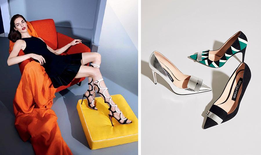 Η Hillary Rhoda για τη διαφημιστική καμπάνια άνοιξη-καλοκαίρι 2020 // Κομψά παπούτσια της συλλογής