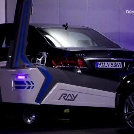 Η τελευταία λέξη της τεχνολογίας στο «ρομποτικό» πάρκινγκ του αεροδρομίου του Ντίσελντορφ