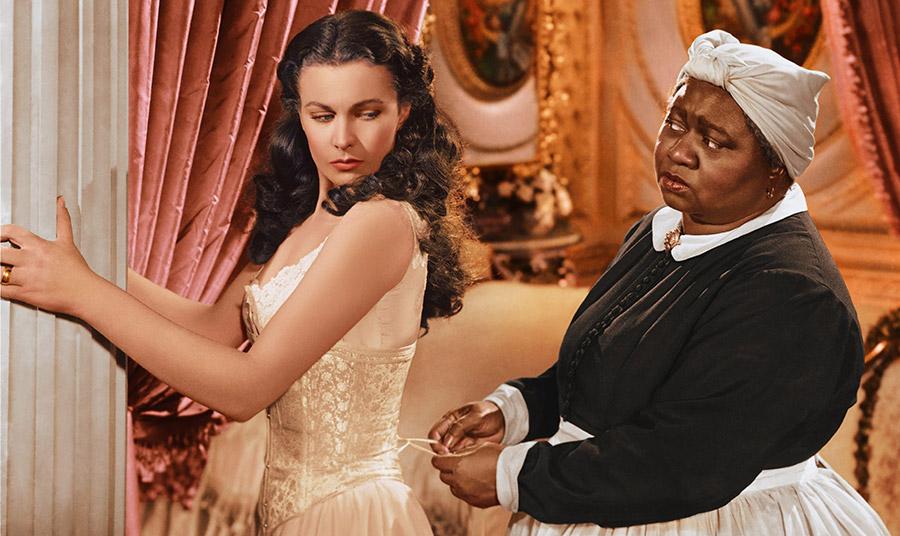 Σκηνή από την ταινία «Όσα Παίρνει ο Άνεμος» (1939)